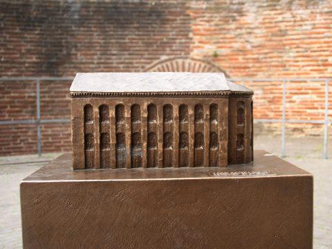 Egbert Broerken, Modell der Konstantin-Basilika, 2015 | Konstantinplatz, Trier