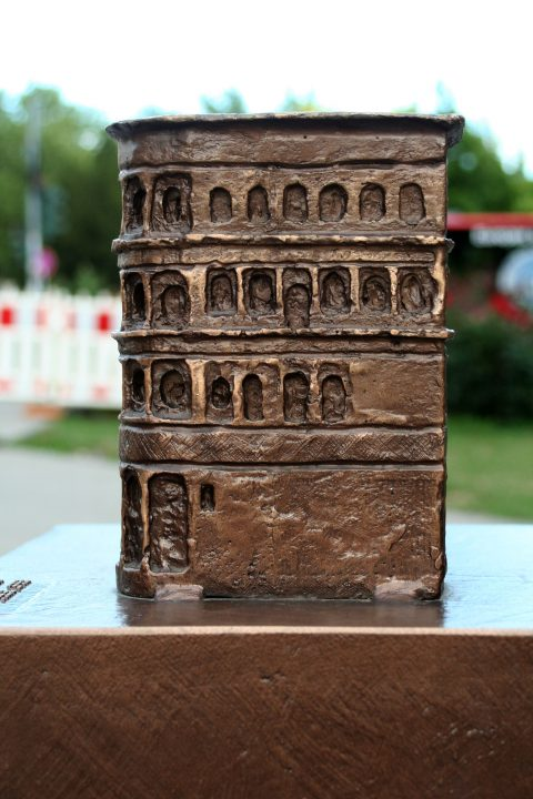 Egbert Broerken, Modell der Porta Nigra, 2014 | Porta Nigra, Trier