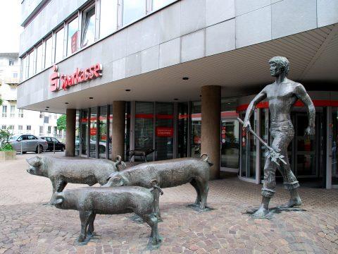 Johannes Scherl, Schweinehirt oder der Glückstreiber, 1979_Scherl_Schweinehirte_Glueckstreiber_45 |