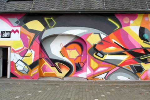 MANTRA & LOVE, Exzellenzhaus, 2015–2016 | Exhaus, Zurmaiener Straße, Trier-Nord
