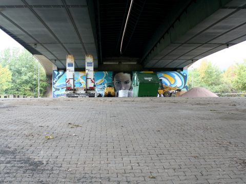 MANTRA & LOVE, Summerfresh, 2015 | Konrad-Adenauer-Brücke, Trier