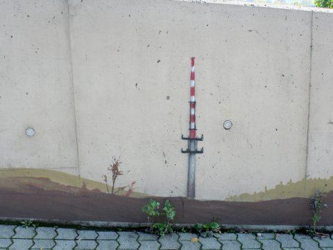 MANTRA & LOVE, Trier B51, 2012 | Mauer an der B51 Richtung Bitburg, Trier