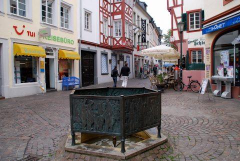 Rudolf Breilmann, Dasbach-Brunnen, 1984 | Glockenstraße, Mitte/Gartenfeld, Trier