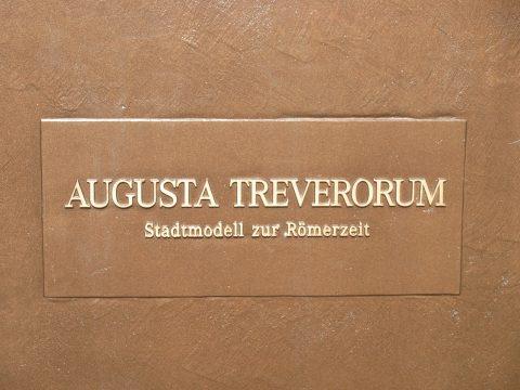 Egbert Broerken, Augusta Treverorum, 2015 | Simeonstraße, Trier