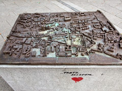 Egbert Broerken, Modell der Stadt Trier, 2011 |