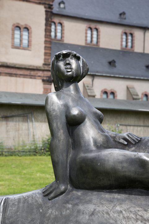 Jupp Zimmer, Europa mit dem Stier, 1980 | Grünanlagen St. Maximin, Trier