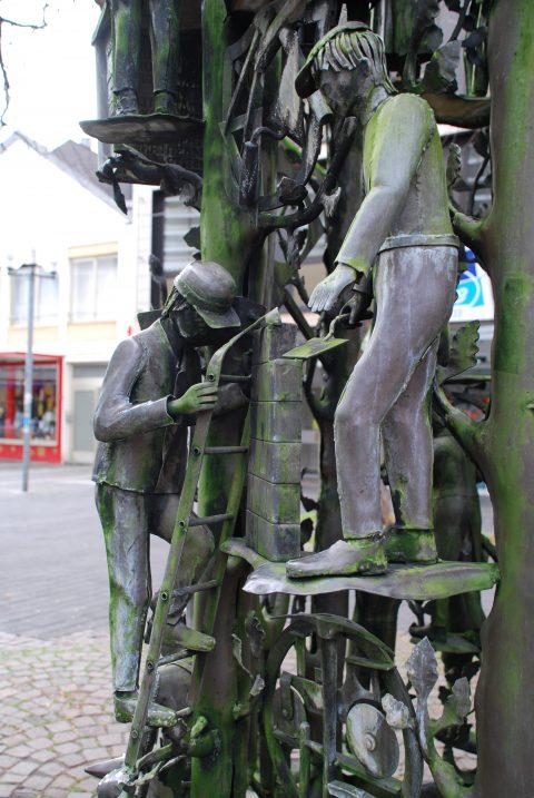Klaus Apel, Handwerkerbrunnen, 1984 | Fahrstraße/Nagelstraße,Trier