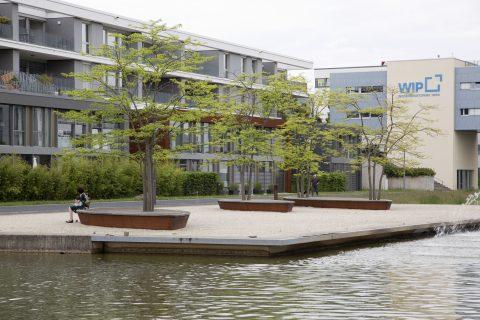 Literaturinsel zur Landesgartenschau, 2004 | Am Wasserband, Petrisberg, Trier