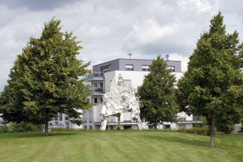 Polybros, Augusta Treverorum Bulky Waste CMY, 2015 | Petrisberg, Trier
