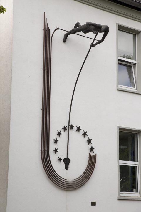 Stefan Zydek, Stabhochspringer, 2000 | Europäische Akademie des rheinland-pfälzischen Sports, Trier-Nord, Trier
