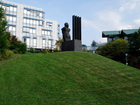 Waldemar Otto, Laokoon 86, 1987 | D-Gebäude, Universität Trier