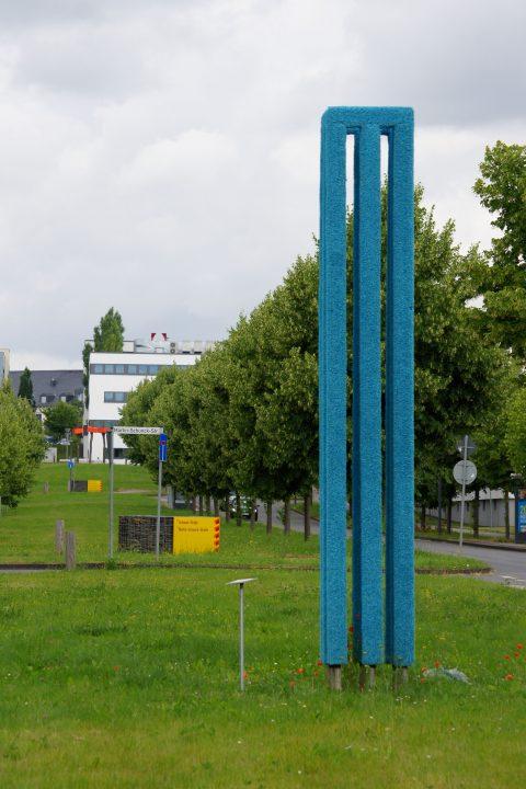 Daniel Janzarik, Ohne Titel, 2015 | Robert-Schumann-Allee, Petrisberg, Trier