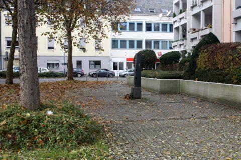 Franz Schönberger, Gedenkstele an der alten Synagoge, 1984 | An der alten Synagoge, Trier
