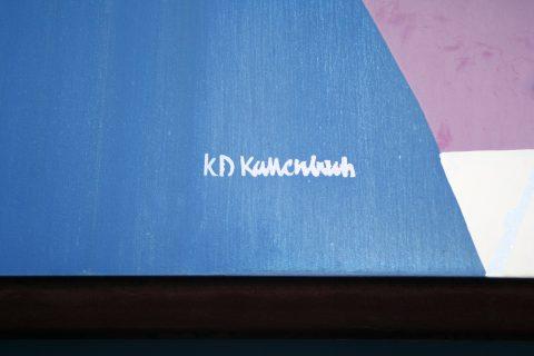 Klaus Dieter Kallenbach, Wandverkleidung TuFa, 1995 | Tuchfabrik, Mitte/Gartenfeld, Trier