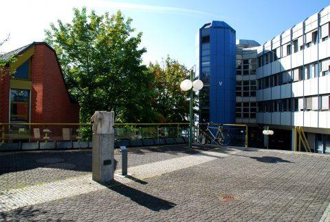 Michael Schoenholtz, Paar IV, 1985/1991 | Forumsplatte, Universität Trier, Tarforst, Trier