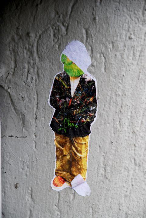 Unbekannt, Karl Marx mit Zigarette, um 2013 | Magarethengässchen, hinter der Bushaltestelle Porta Nigra 6, Trier