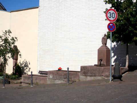 Willi Hahn, Cornelius Brunnen, 1984 | Brunnenstraße / Zum Schlosspark, Trier