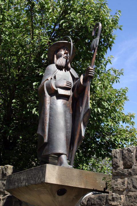 Adolph Steines, Figur des Apostels Jakobus, 1984 |