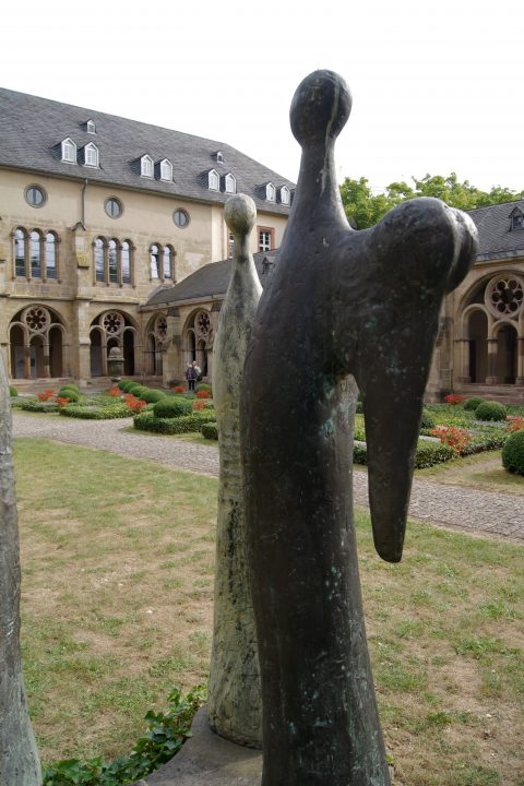 Ernst Steinacker, Drei Engel, 1993 | Domkreuzgang, Trier
