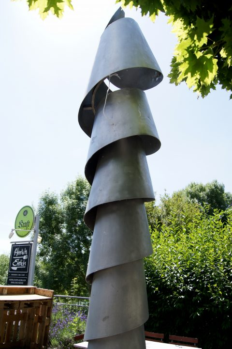 Erich Kraemer, Unendliche Spirale, o.J. | Gelände der Europäischen Kunstakademie, West/Pallien, Trier
