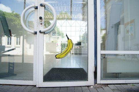 Thomas Baumgärtel, Banane, 1997 | Europäische Kunstakademie, Trier