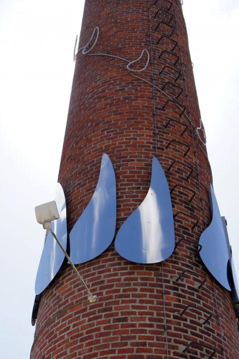 Yolanda Tabanera, Signum - Flammen und Herzen, 2007 | Europäische Kunstakademie, Trier