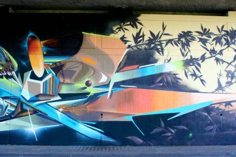 Mantra_&_Love_Graffiti_Konrad_Adenauer_Brücke_Trier_201717 |