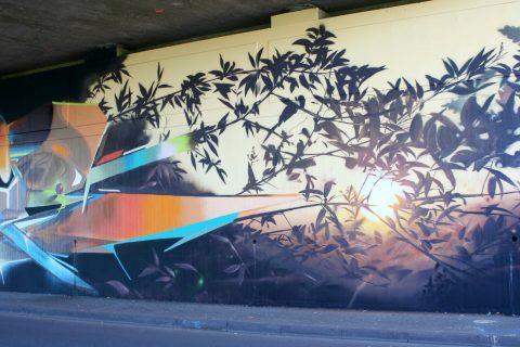 Mantra_&_Love_Graffiti_Konrad_Adenauer_Brücke_Trier_201721 |
